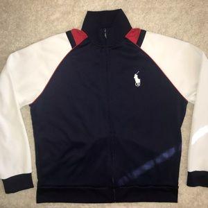 Polo Ralph Lauren Zip Up Sweatshirt Jacket